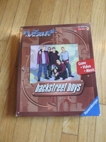 Backstreet Boys Puzzles in Motion CD-ROM