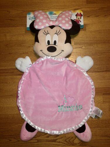 NWT - Disney Baby Minnie Mouse Plush Playmat - 35 X 40 - I Minnie - $9.99