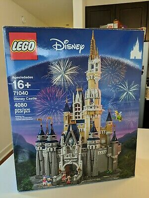 LEGO Disney Princess The Disney Castle 71040 Used  Very Good Box Complete