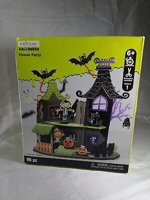 Art Crafts For Halloween (Creatology Halloween Vampire House Party 96 Piece Foam Art Kit for Kids)