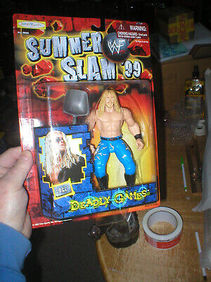 WWE EDGE FROM DEADLY GAMES SERIES, FROM JAKKS, NEVER OPENED for sale  Shipping to India