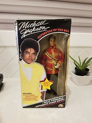 1980 Michael Jackson Superstar of The 80s Thriller Outfit Action Figure Toy Doll](Michael Jackson Thriller Outfit)