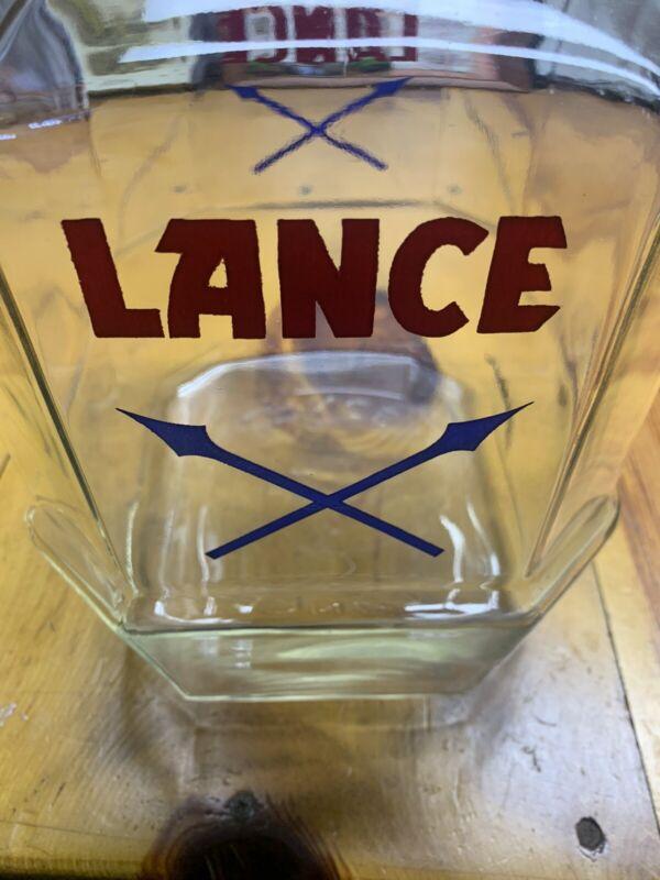 Lance Cookie Jar Vintage