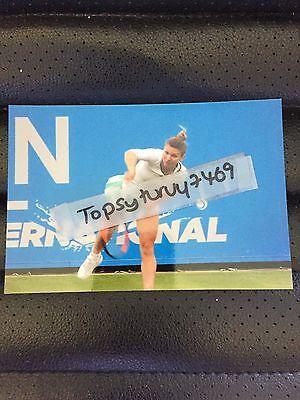 Simona Halep Tennis Photo Aegon Wimbledon 2017 6X4 Inch
