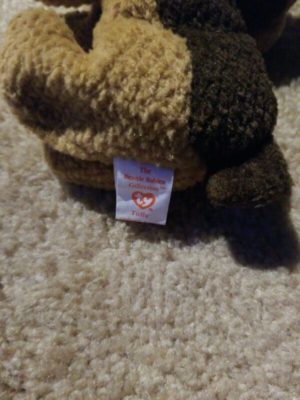 TY Beanie Baby Mint w// Tags 1996 TUFFY the Terrier Dog 6.5 inch