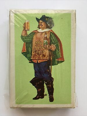 Sealed Deck G. Heileman's Old Style Lager Playing Cards La Crosse Wisconsin Beer