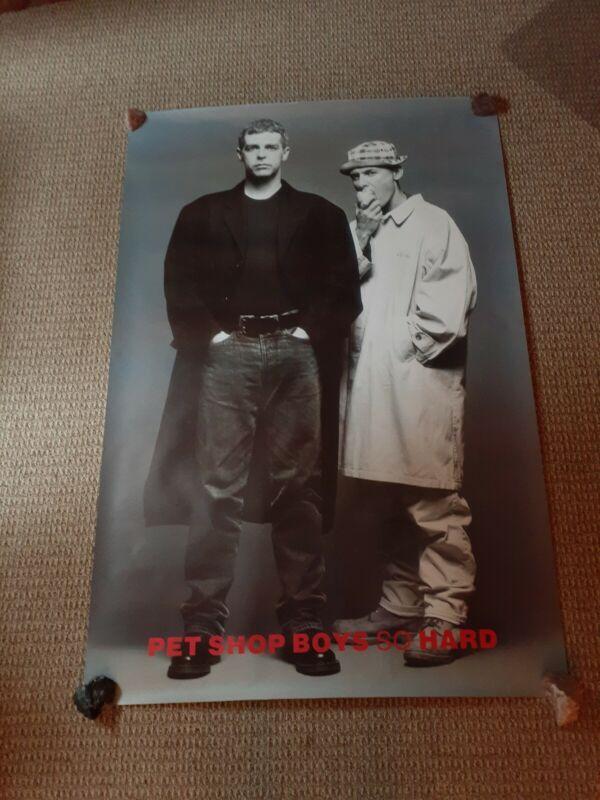 Pet Shop Boys So Hard 60 X 40 Promotional Poster