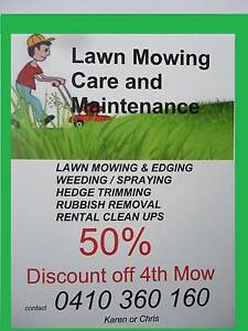 LAWN MOWING & GARDEN CARE WHY BUY A LAWN MOWER?  CUTS FROM $35.00 Narre Warren South Casey Area Preview