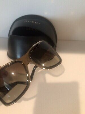 Vintage GUCCI Sunglasses GOLD Frame GG RETRO AMAZING SUN GLASSES