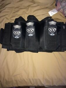 NXe paintball pod pack holder