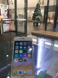 iPhone6 64GB Silver with TAX INVOICE AND SHOP WARRANTY