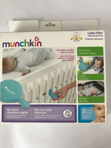 Munchkin Lulla-Vibe Vibrating Mattress Pad