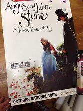 Angus and Julia Stone band poster Ringwood Maroondah Area Preview