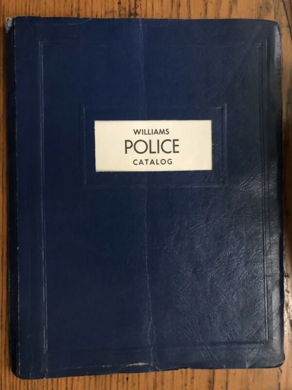 Vintage WILLIAMS POLICE Equipment Catalog Guns Gear Riots! MICHIGAN 1967 92 Pgs