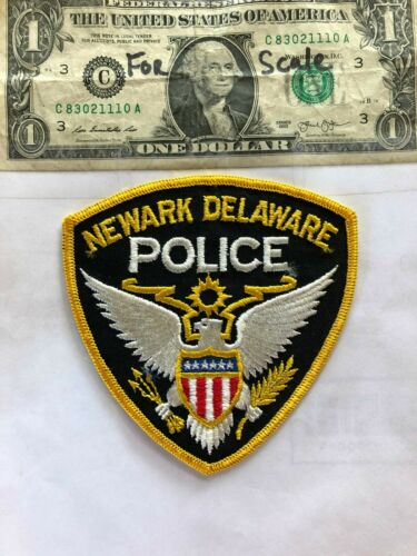 Newark Delaware Police Patch Un-sewn in great shape