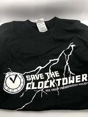 Save The Clocktower Back to the Future T Shirt Funny Time Travel
