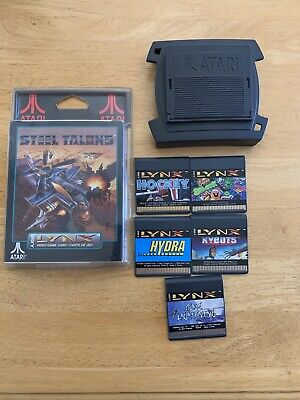 Atari Lynx II Launch Edition Black Handheld System With Games