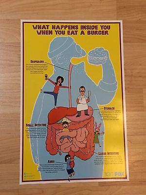SDCC 2017 Comic Con Bob's Burgers Poster Fox