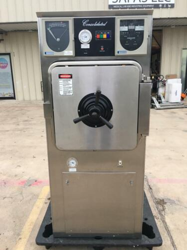 Consolidated SSR-3A-PB autoclave steam sterilizer 60 DAY WARRANTY!!  SEE VIDEO!!
