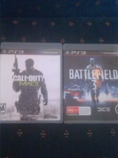 Ps3 games call of duty mw3 battlefield 3 Echuca Campaspe Area Preview