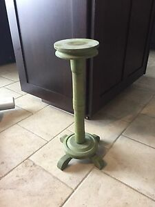 Antique Wooden candlestick style stand