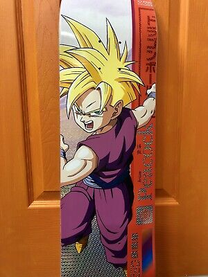 RARE Primitive Skate x Dragon Ball Z DBZ Anime GOHAN Skateboard Deck