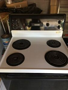 "30"" electric stove good clean"