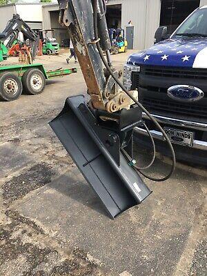 44 Hydraulic Tilt Ditching Grading Bucket For Mini Excavators.1 14 Wain Roy