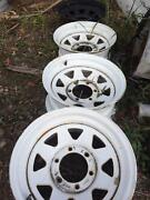 4x sunraysia rims 15x7  6 stud came off a bt50 Eight Mile Plains Brisbane South West Preview