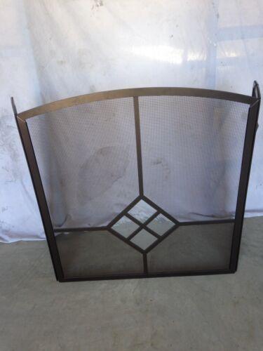 Pilgrim FSG1230BBC 3 Fold Fireplace Screen Bronze & Clear St