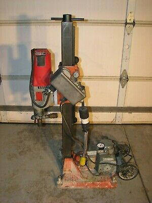 Milwaukee 4096 Dymodrill 2 Speed Core Drill Coring Drilling Rig With Vacuum Pump