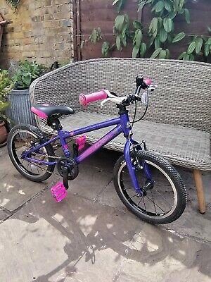 "Carrera Cosmos Kids Childs Bike, Pink Purple, VGC, 16"" Inch Wheel, Age 4 - 7"