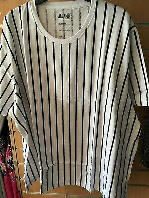 JACAMO  STRIPE  t-shirt   3XL   bnip  BIG&TALL