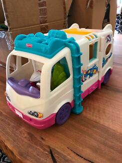 Fisher Price play camper van