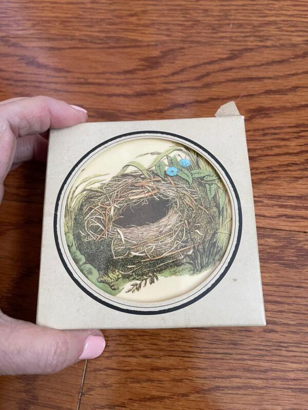 John Derian For Target Rare Melamine Bird Nest Coasters