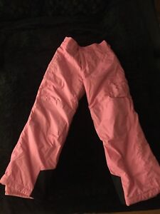 COLUMBIA PINK SNOW PANTS FOR  GIRLS SIZE 14/16
