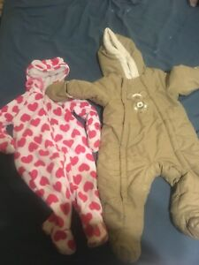 Two snowsuits for sale