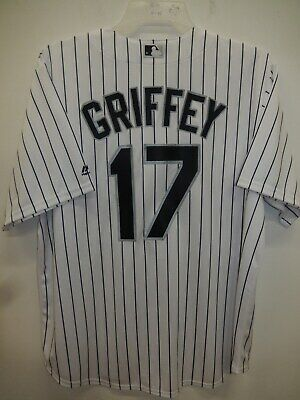 0416 MENS MAJESTIC Chicago White Sox KEN GRIFFEY JR Baseball Cool Base JERSEY Majestic Mens Cool Base
