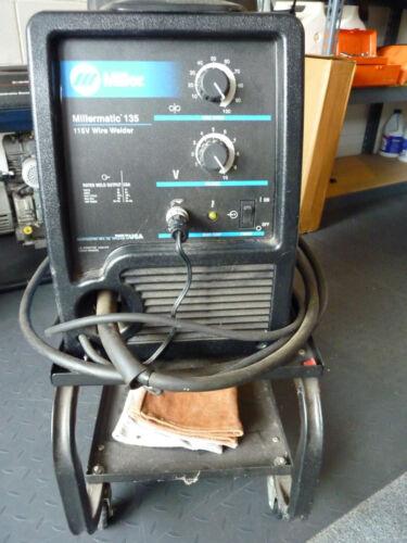 Miller Millermatic 135 115V MIG Portable Wire Welder