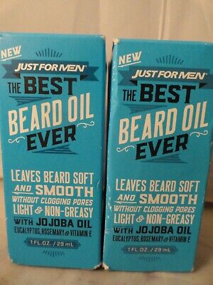 Just For Men, The Best Beard Oil Ever, Leaves Beard Soft And Smooth (2pk)