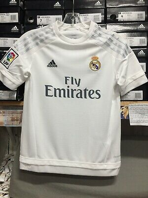 04576c0c7 Adidas Real Madrid Home Jersey White Gray Classic Youth (boys) Youth XL Only