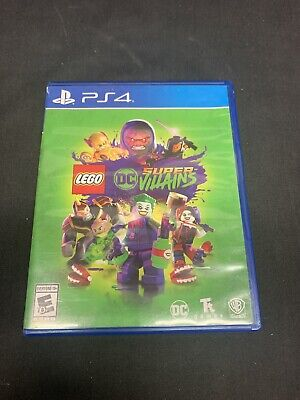 Lego DC Super-Villains For PlayStation 4 PS4 Very Good