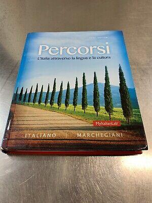 Percorsi: L'Italia attraverso la lingua e la cultura (3rd Edition) - Standalone