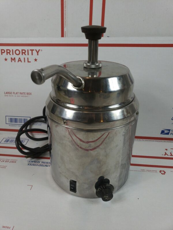 Server products Chocolate/Fudge Dispenser Warmer Model FSP Series 812 Pump