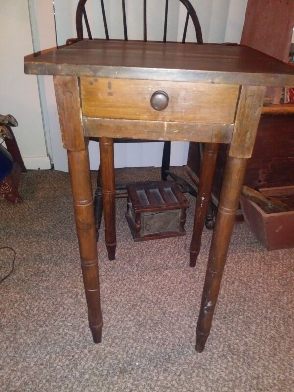 19th Century One Drawer Stand