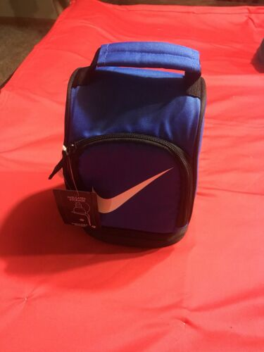 NIKE AIR JORDAN GIRL BOY GRAY INSULATED LUNCH BOX TOTE  LUNCHBOX BAG