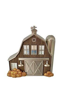 Bath & Body Works Wallflower Plug Night Light Scent Diffuser Fall Barn Pumpkins