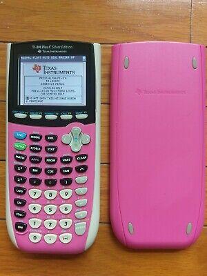 Texas Instruments TI-84 TI Plus C Silver Edition Color Graphing Calculator