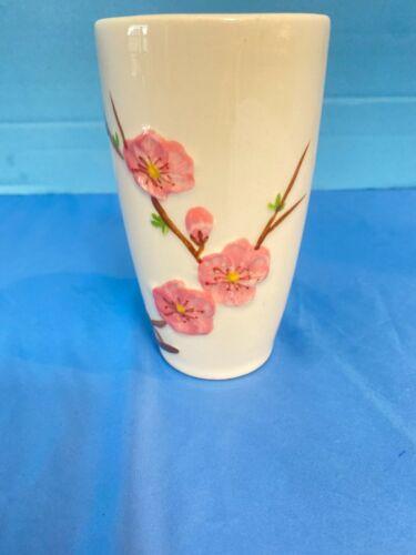 Rare Mid Century Modern Metlox Poppytrail, Peach Blossom  (12 oz) Tumbler  MINT