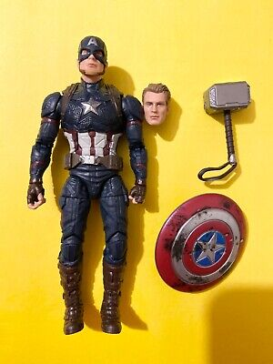 Hasbro Marvel Legends Worthy Captain America Walmart Exclusive Power and Glory